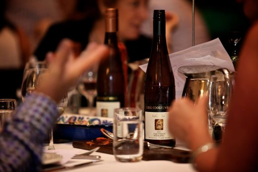 Greg Cooley Wines Townsville Wine Dinner 22 November 2016