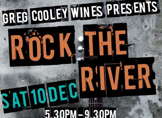 Greg Cooley Wines presents Rock the River Brisbane 10th December 2016