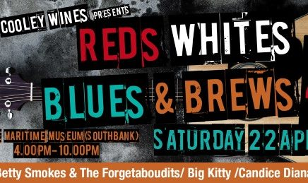 Greg Cooley Wines presents Reds Whites Blues and Brews 4 Brisbane 22 April 2017