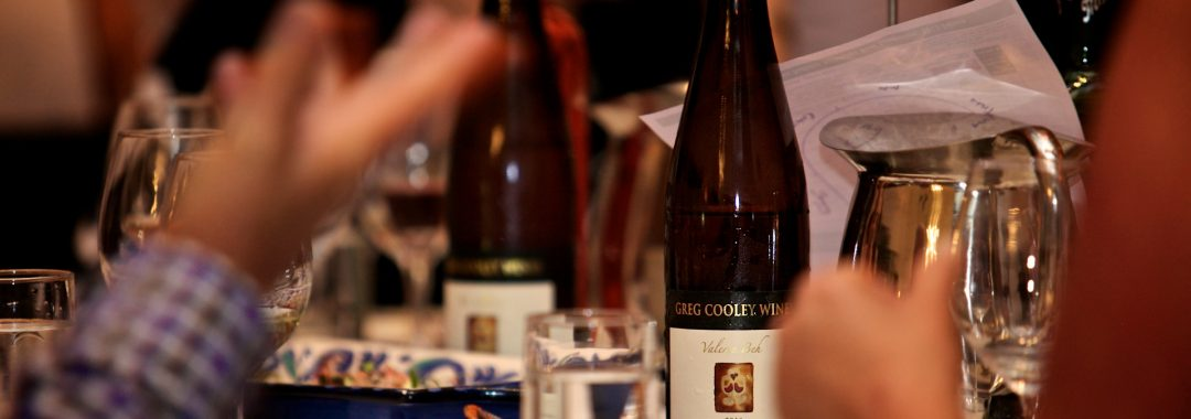 Greg Cooley Wine Lunch