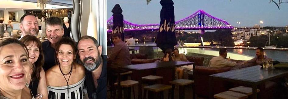 Greg Cooley Wine Lunches, Brisbane, November 2017