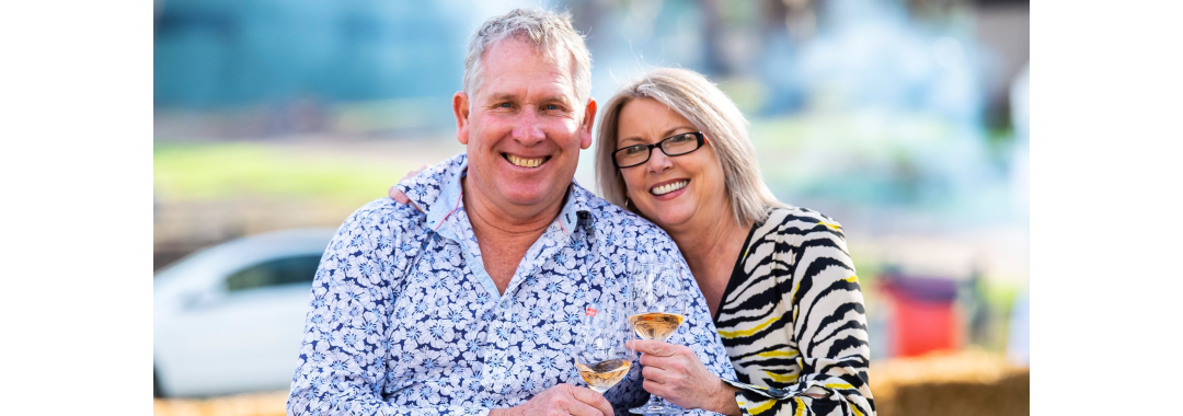 Greg and Kelli - Greg Cooley Wines