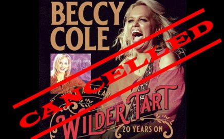 Greg Cooley Wines presents Beccy Cole - cancelled